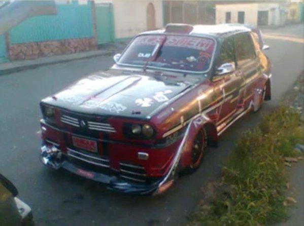 Dacia 1300 / Renault 12 - tuning absolut kitshos