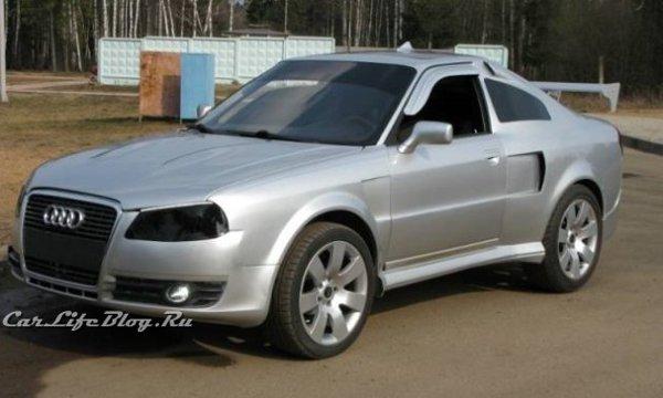 Modelul Audi coupe-crossover are la baza un Audi 80, cu fata de A4 si spate de A6