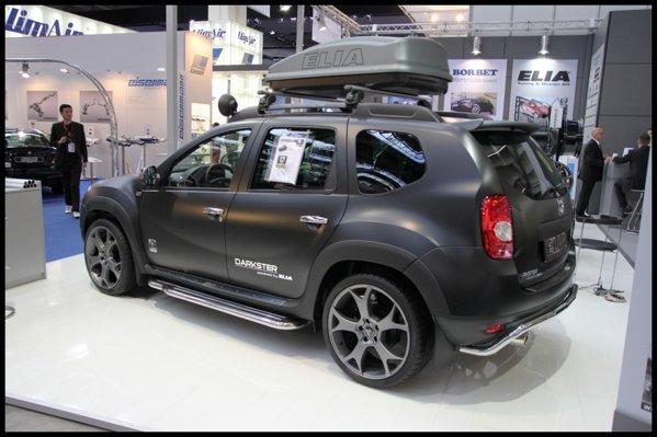 Dacia Duster Elia Darkster este pregatita si pentru aventura