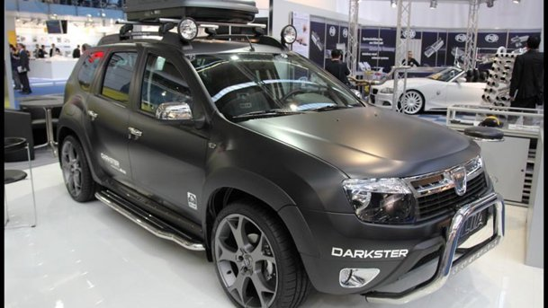 elia prezint la frankfurt 2011 dacia duster darkster. Black Bedroom Furniture Sets. Home Design Ideas