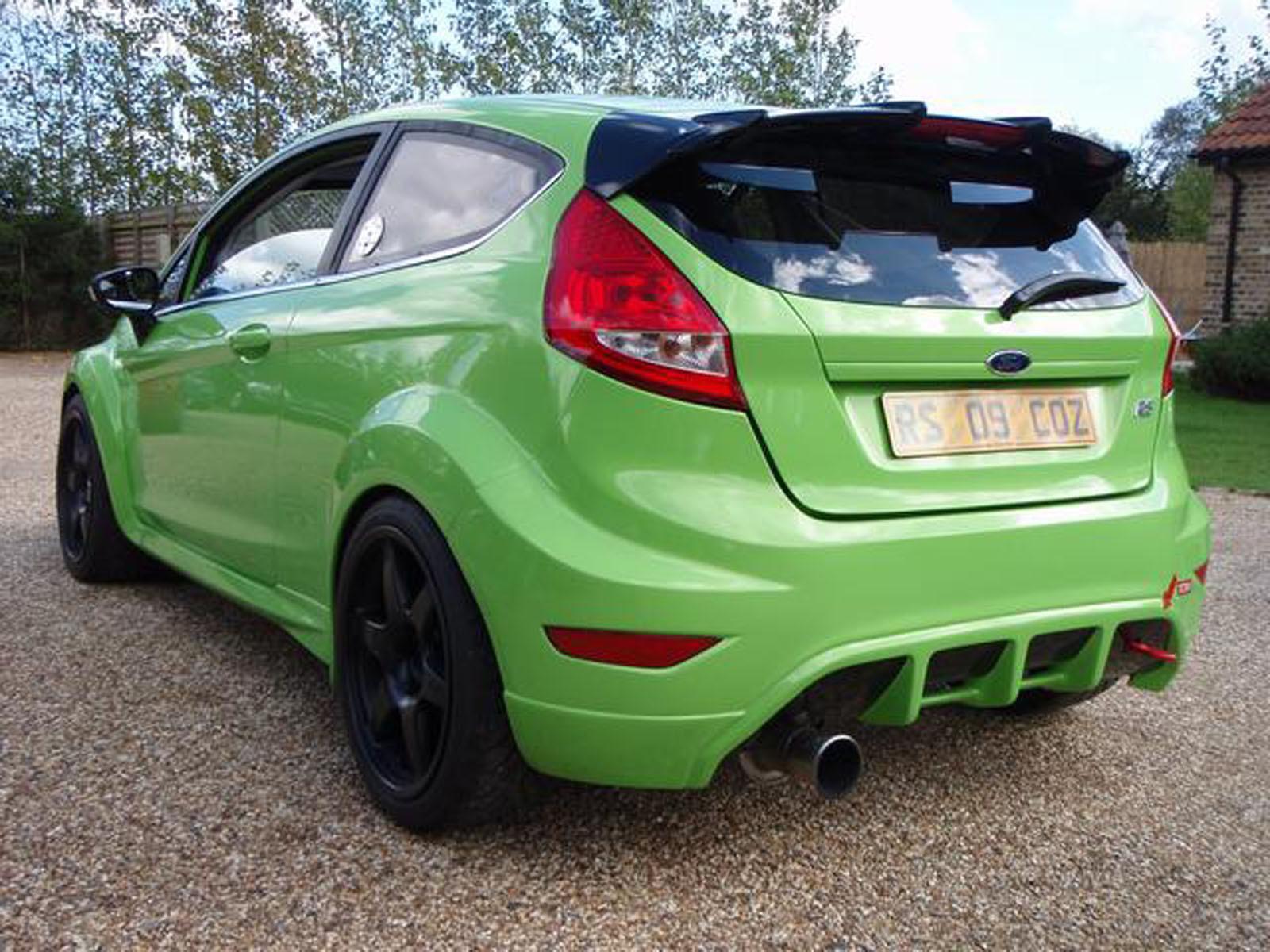 Imagini - Ford Fiesta – tuning extrem