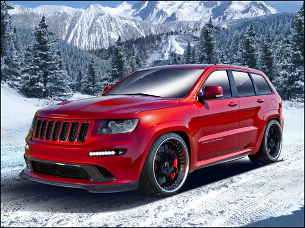 Jeep Grand Cherokee HPE800 ajunge la 805 CP si 1.115 Nm