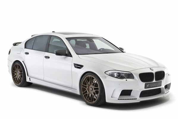 BMW M5 Hamann ofera 720 CP, fata de 612 CP in cazul AC Schnitzer