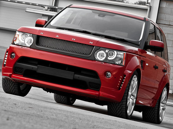 Red Range by Khan Design