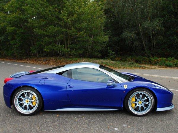 Ferrari 458 Italia - programul de personaliare Emozione