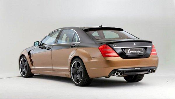 Look extravagant pentru Lorinser S70, atat la exterior, cat si in interior