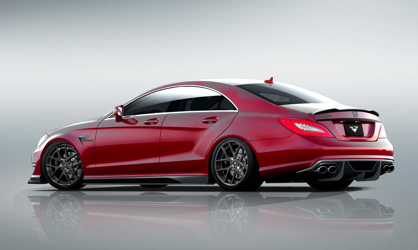 Kit de caroserie vorsteiner pentru mercedes benz cls 63 amg for Mercedes benz car care kit