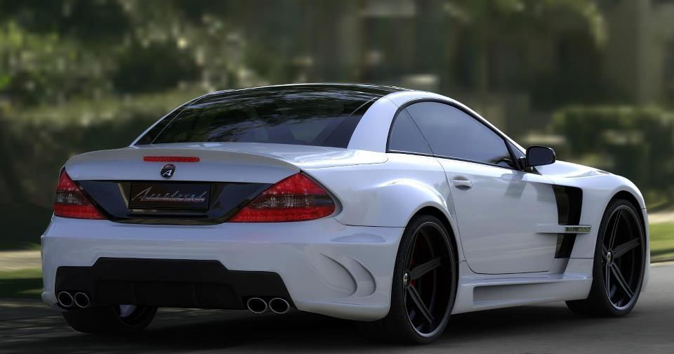 Imagini kit de tuning exterior pentru mercedes benz sl for Mercedes benz exterior car care kit