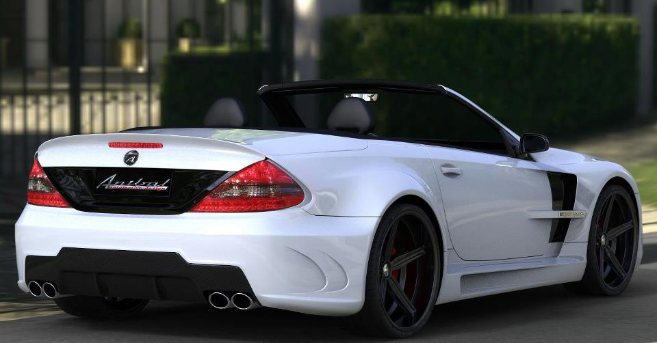 Kit de tuning exterior pentru mercedes benz sl de la for Mercedes benz exterior car care kit