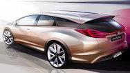 Honda va prezenta conceptele Civic Wagon şi NSX la Geneva