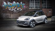 Conceptul cabrio Opel Adam Rocks, prezentat la Geneva 2013