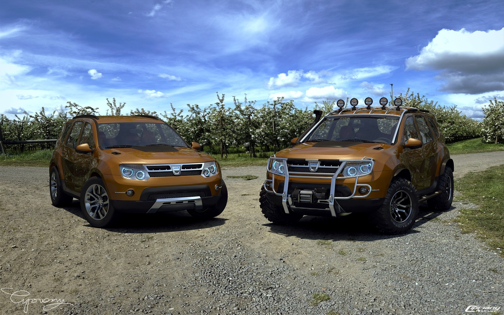 imagini concept dacia duster preparat pentru off road. Black Bedroom Furniture Sets. Home Design Ideas