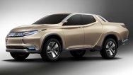 Mitsubishi GR-HEV Concept prefigurează noul L200 cu propulsie hibridă plug-in