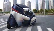 Toyota i-Road Concept, vehicul electric pentru aglomeraţiile urbane
