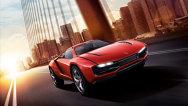 Italdesign Parcour Concept, crossover sport oferit în două versiuni, coupe şi roadster. VIDEO