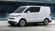 Volkswagen e-Co-Motion - concept de maşină electrică de marfă pentru trafic urban