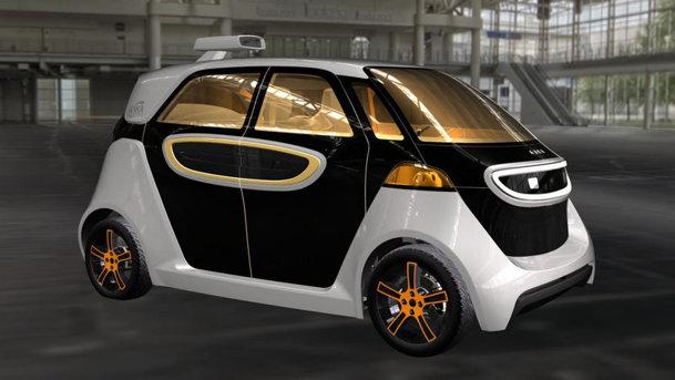 Akka Link & Go este maşina electrică autonomă a viitorului (probabil)
