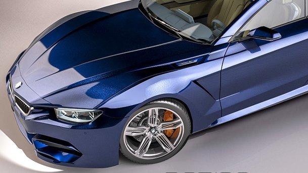 BMW M9 Roadster, imaginat de un român! FOTOGALERIE