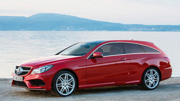 Studiu de design: Mercedes-Benz E-Class Coupe Shooting Brake