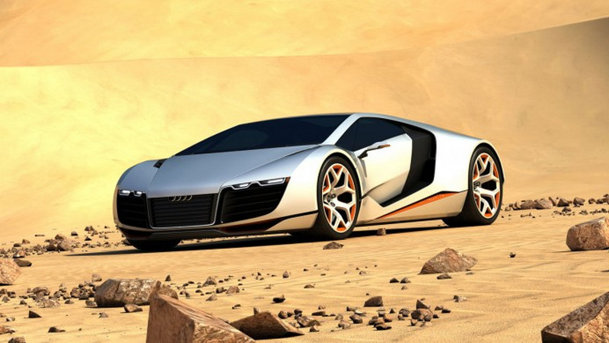 Conceptul Auto Union C8 se vrea un frate mai mare pentru Audi R8