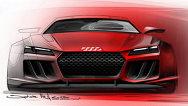 Audi vine la Frankfurt cu Quattro Sport E-Tron, concept de 700 CP