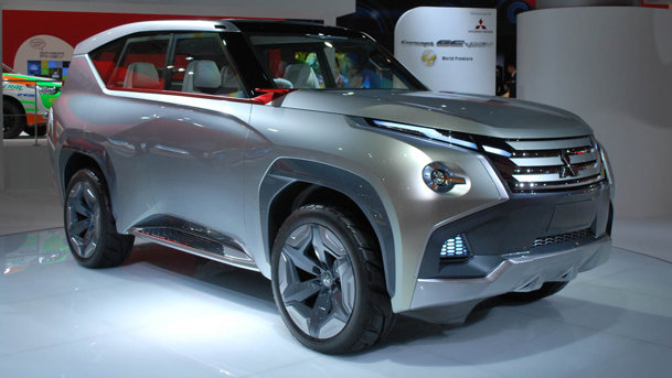 Mitsubishi GC-PHEV Concept ar putea prefaţa noul Pajero