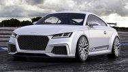 Audi TT quattro Sport Concept îşi etalează cei 420 CP cu mândrie
