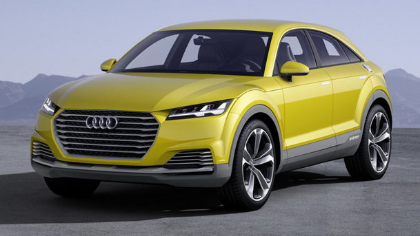 Audi TT Offroad Concept anunţă un crossover TT!