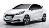 Conceptul Peugeot 208 HYbrid Air 2L propune un nou tip de propulsie hibridă