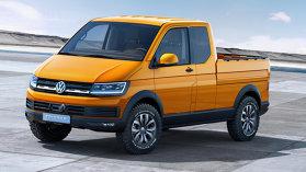 Volkswagen Tristar Concept ne face să ne dorim foarte mult un pick-up!