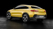 Mercedes ATACĂ BMW din nou: aşa arată noul GLC Coupé, rival pentru X4