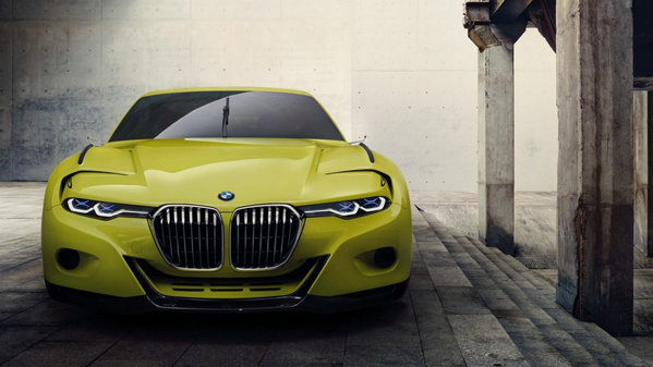 BMW 3.0 CSL Hommage Concept: imagini şi informaţii oficiale. UPDATE
