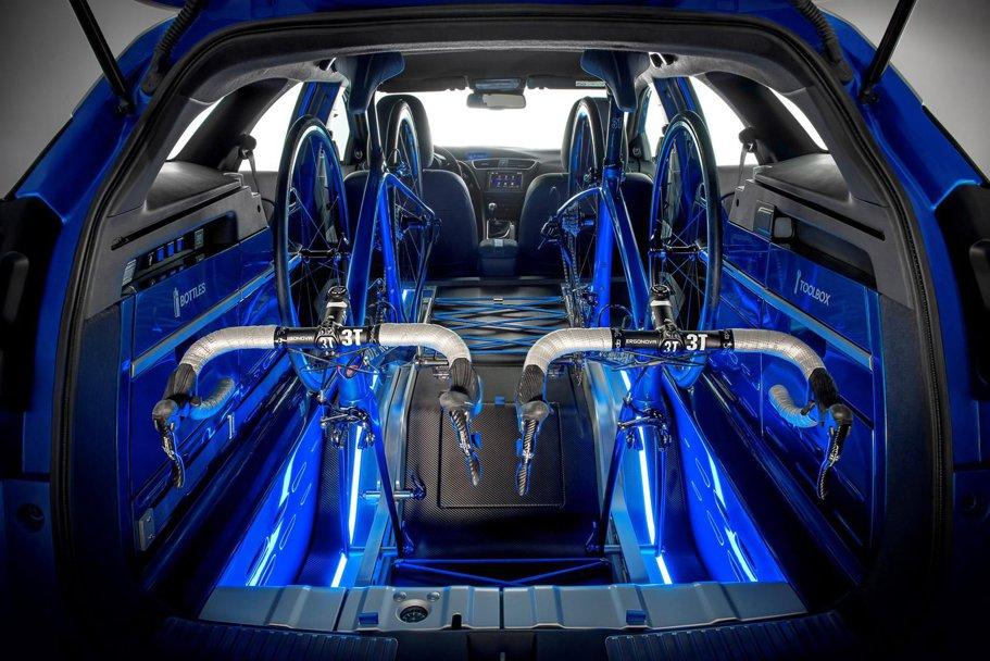Honda Civic Tourer Active Life Concept, breakul ideal pentru biciclişti
