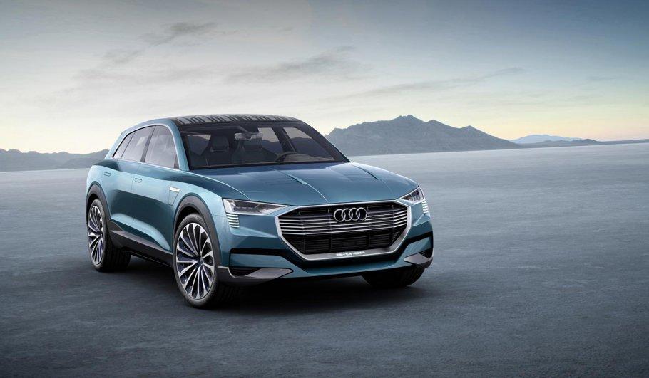 Audi e-tron quattro ne pregăteşte pentru SUV-ul electric Audi din 2018