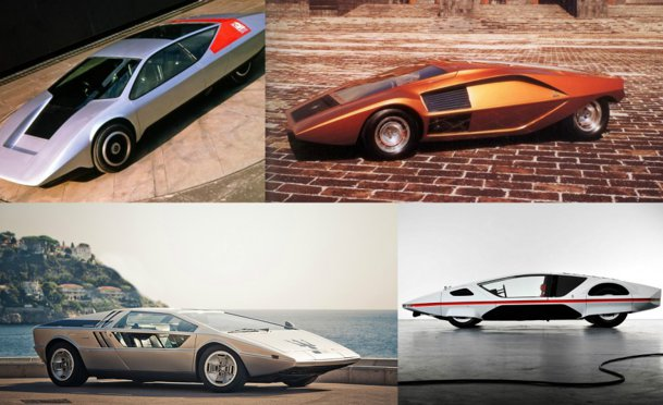 Top 20 concepte superbe din ani '60 care nu au prins linia de producţie - GALERIE FOTO