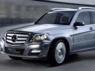 Mercedes GLK Vision Hybrid Bluetec Concept