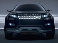 Land Rover LRX Concept Black & Silver
