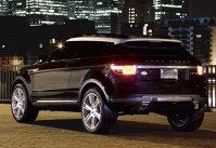 Land Rover LRX Black Silver