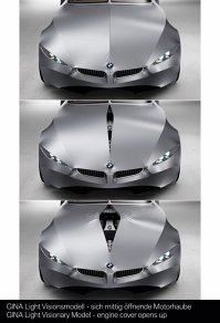BMW GINA -  accesul la compartimentul motor