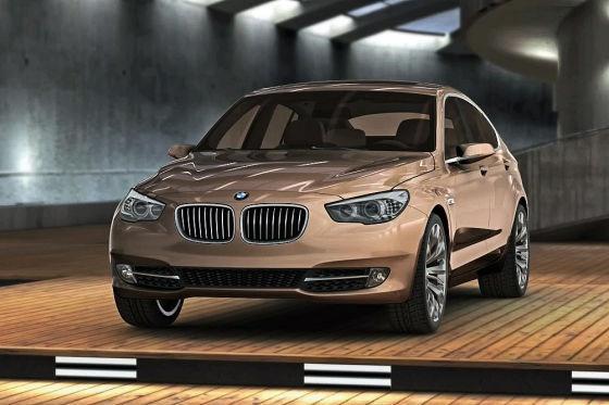 Imagini - BMW Seria 5 Gran Turismo Concept la Geneva 2009