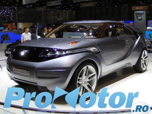 Dacia Duster Concept - premiera Dacia la Geneva 2009!