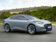 Renault Fluence Zero Emissions Concept la Frankfurt 2009