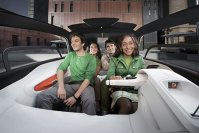 4 pasageri in 2,5 metri lungime