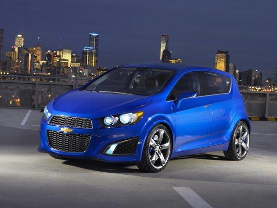 Conceptul Chevrolet Aveo RS prefigureaza noua generatie Chevrolet Aveo, care va fi mult evoluata