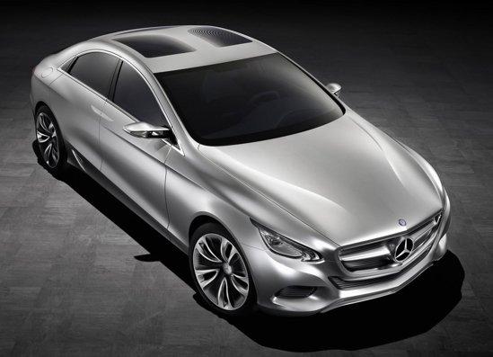 Mercedes F800 Style Concept prefigureaza noul CLS si arata noi idei de confort si siguranta