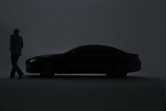 Silueta lui BMW Gran Coupe este un mix reusit intre un GT sportiv si un sedan dinamic