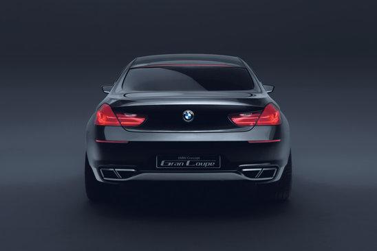 Stilul lui BMW Gran Coupe nu mai este asa de original ca al lui BMW CS Concept