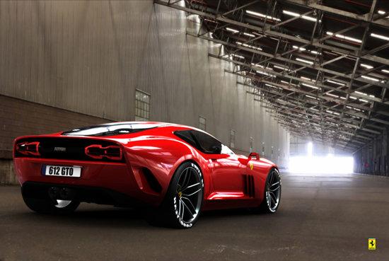Un spate mai putin obisnuit pentru o masina Ferrari, dar cu o identitate proprie reusita