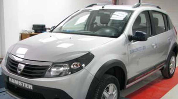 Dacia Hamster Hybrid-Electricway 4WD, un studiu al Universităţii din Piteşti