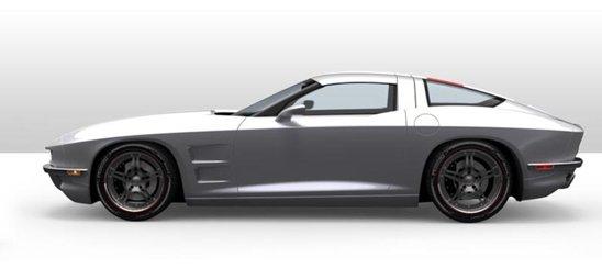 Rossi SixtySix este construit pe baza unui Corvette normal